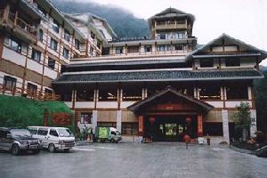【龙胜温泉龙福山庄】龙胜温泉中的三星经济便捷酒店