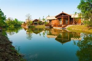 扬州凤凰岛逸扬温泉度假村落